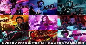 HyperX anuncia la campaña publicitaria de 2019 We're All Gamers