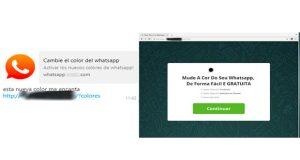 ESET advierte un nuevo engaño en WhatsApp: Cambie el color del WhatsApp