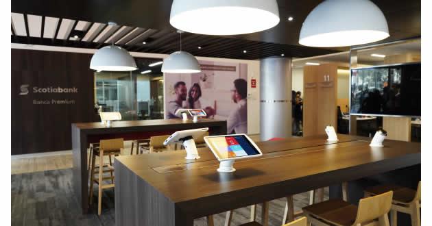 #Flagship de #Scotiabank cambia la experiencia del Cliente