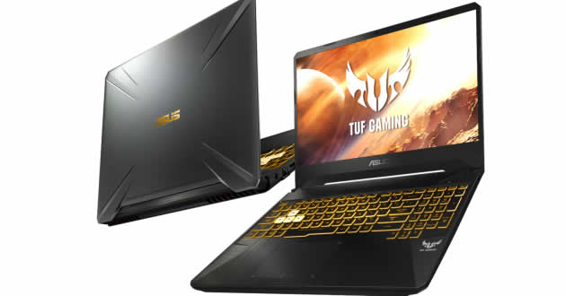 Laptops ASUS TUF Gaming FX505 y FX705