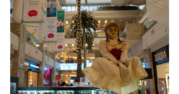 Annabelle llega a Mall Aventura Santa Anita