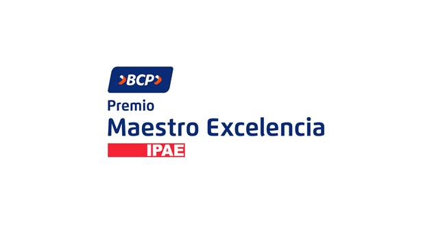 #BCP e #IPAE lanzan el #PremioMaestroExcelencia