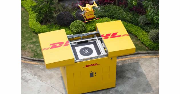 #DHLExpress lanza su primer servicio de reparto regular urbano plenamente automatizado con #dronesinteligentes