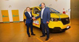 Hyundai entrega nueva flota de mini busH1 a Bitel