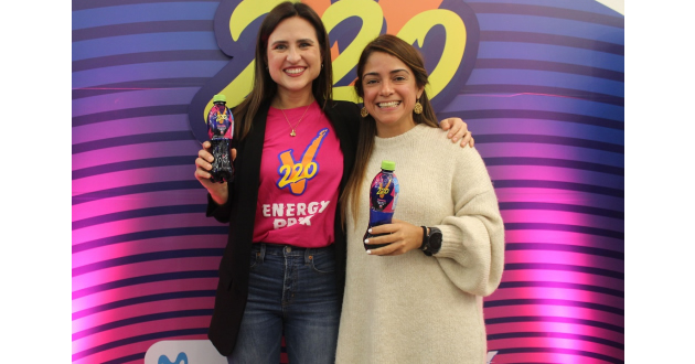 Bebida energizante 220V lanza nuevo sabor en alianza con Movistar Prix