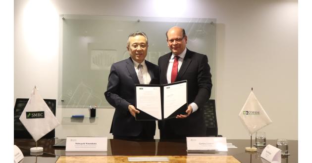 Cofide y el Banco Sumitomo firman acuerdopara financiar proyectos de forma conjunta