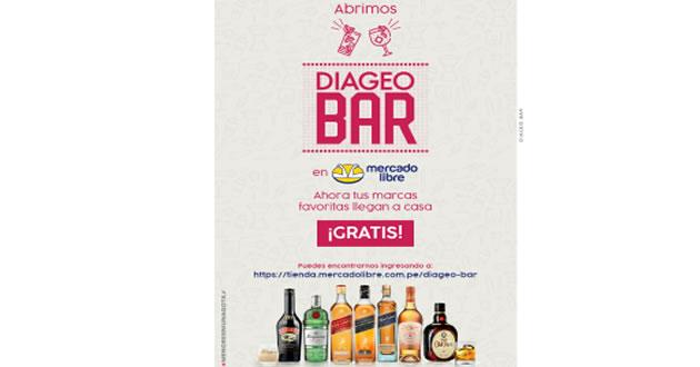 DIAGEO lanza su tienda oficial de bebidas en Mercado Libre