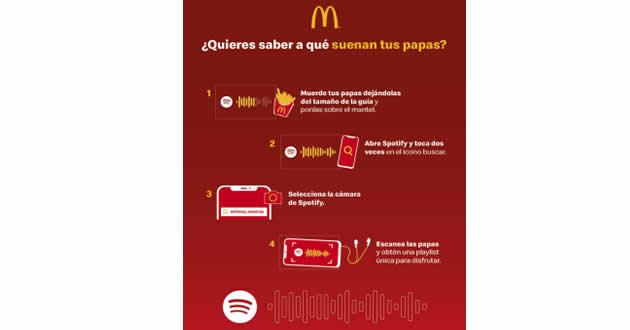 #McDonalds y #Spotifyse unenparacrear #Frieslist