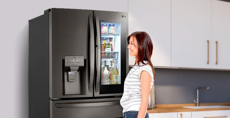 LG Instaview Door-In-Door con Craft Ice una refrigeradora ideal para la vida moderna1