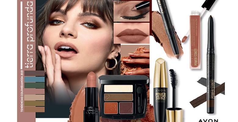 Maquillaje tierra profunda