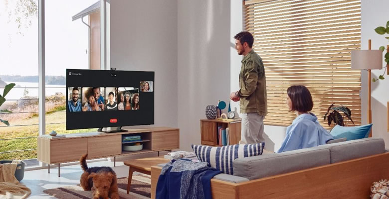 videollamadas directamente desde tu televisor Samsung