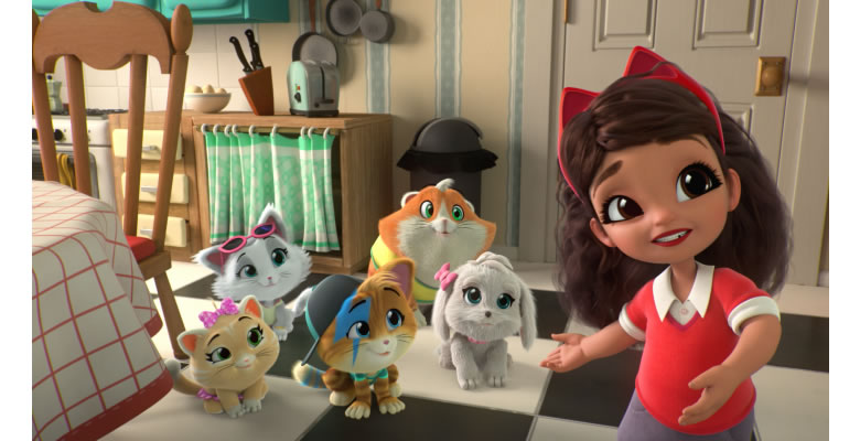 Discovery Kids presenta los nuevos episodios de Ricky Zoom y 44 Gatos